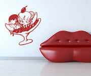 Vinyl Wall Decal Sticker Banana Split #OS_MB409