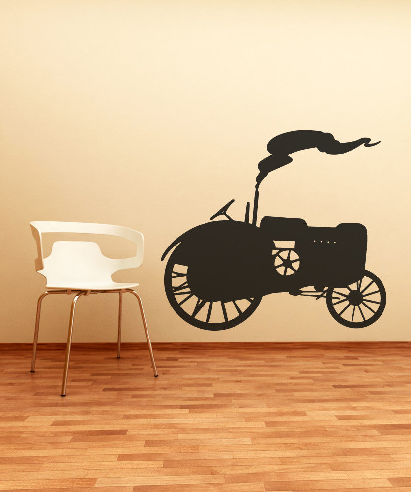 Vinyl Wall Decal Sticker Tractor #OS_MB549