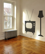 Vinyl Wall Decal Sticker Tube TV #OS_MB550