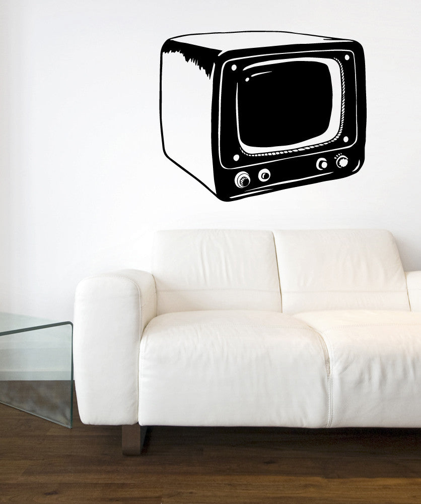 Vinyl Wall Decal Sticker Small TV #OS_MB551