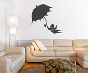 Vinyl Wall Decal Sticker Windy Day #OS_MB493