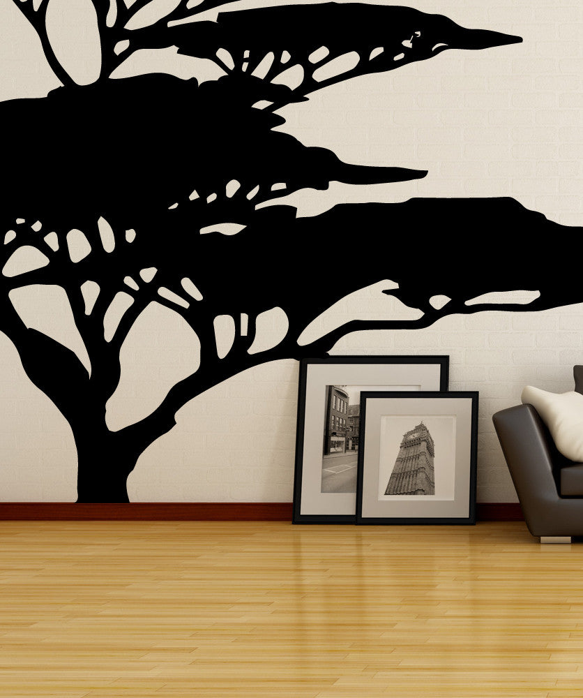 Vinyl Wall Decal Sticker African Tree Os Mb554