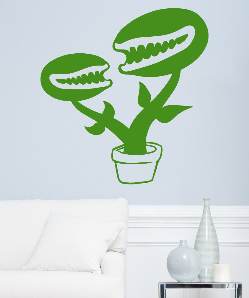 Vinyl Wall Decal Sticker Hungry Plant #OS_MB501