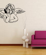 Vinyl Wall Decal Sticker Dreaming Cherub #OS_MB563