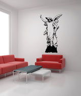 Vinyl Wall Decal Sticker Angel Statue #OS_MB567