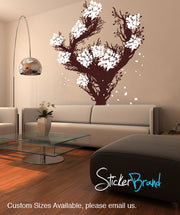 Vinyl Wall Decal Sticker Large Blossom Tree #GFoster157