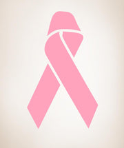 Wall Decal Sticker Breast Cancer Ribbon #881