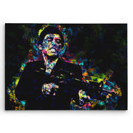Scarface Art on Canvas. Tony Montana At his Best. Brush Strokes Art Design. #C110