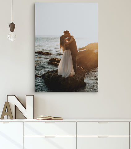 Custom Personalized Stretched Canvas.
