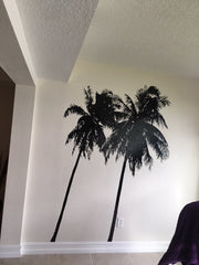 Tropical Palm Trees Wall Decal. #802