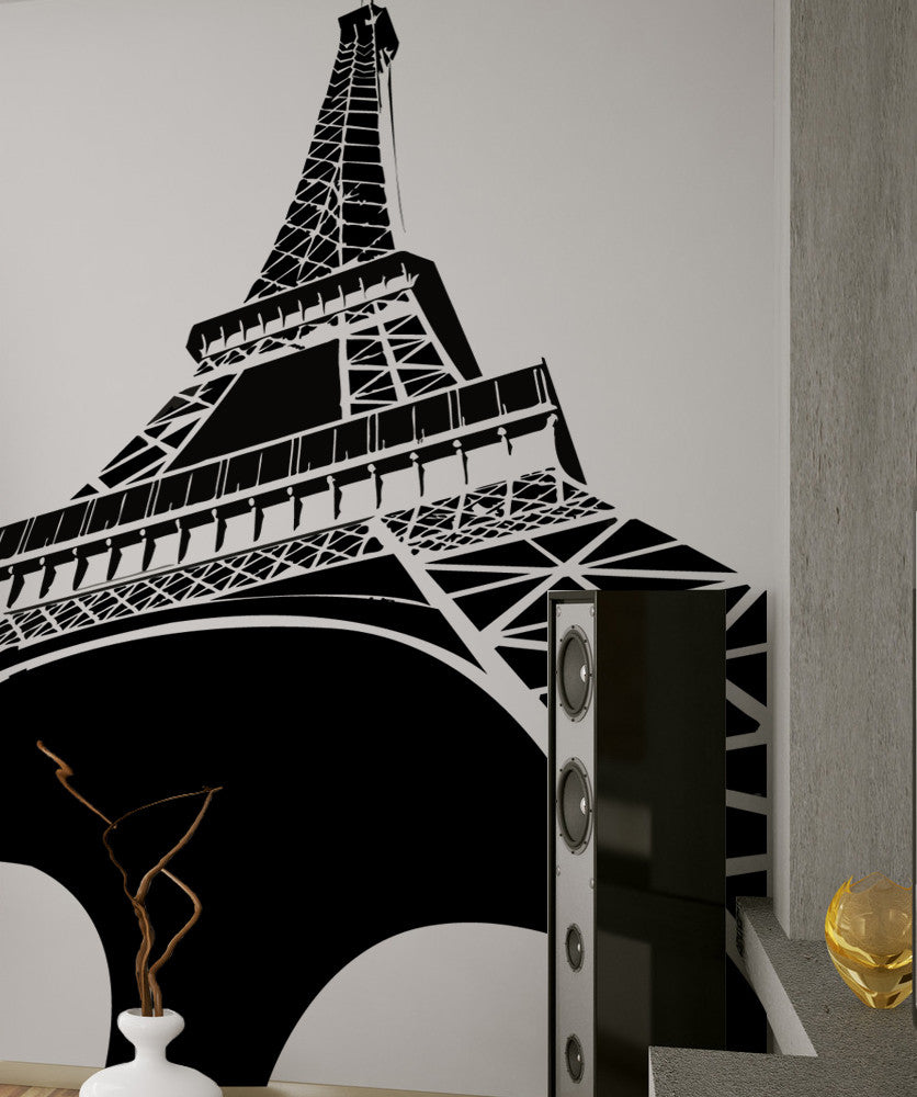 Vinyl Wall Decal Sticker Eiffel Tower item #OS_MG102
