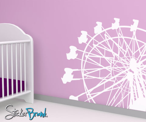 Vinyl Wall Decal Sticker Ferris Wheel #OS_MB174