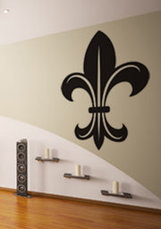 Vinyl Wall Decal Sticker French Fleur De Lys #KTudor109
