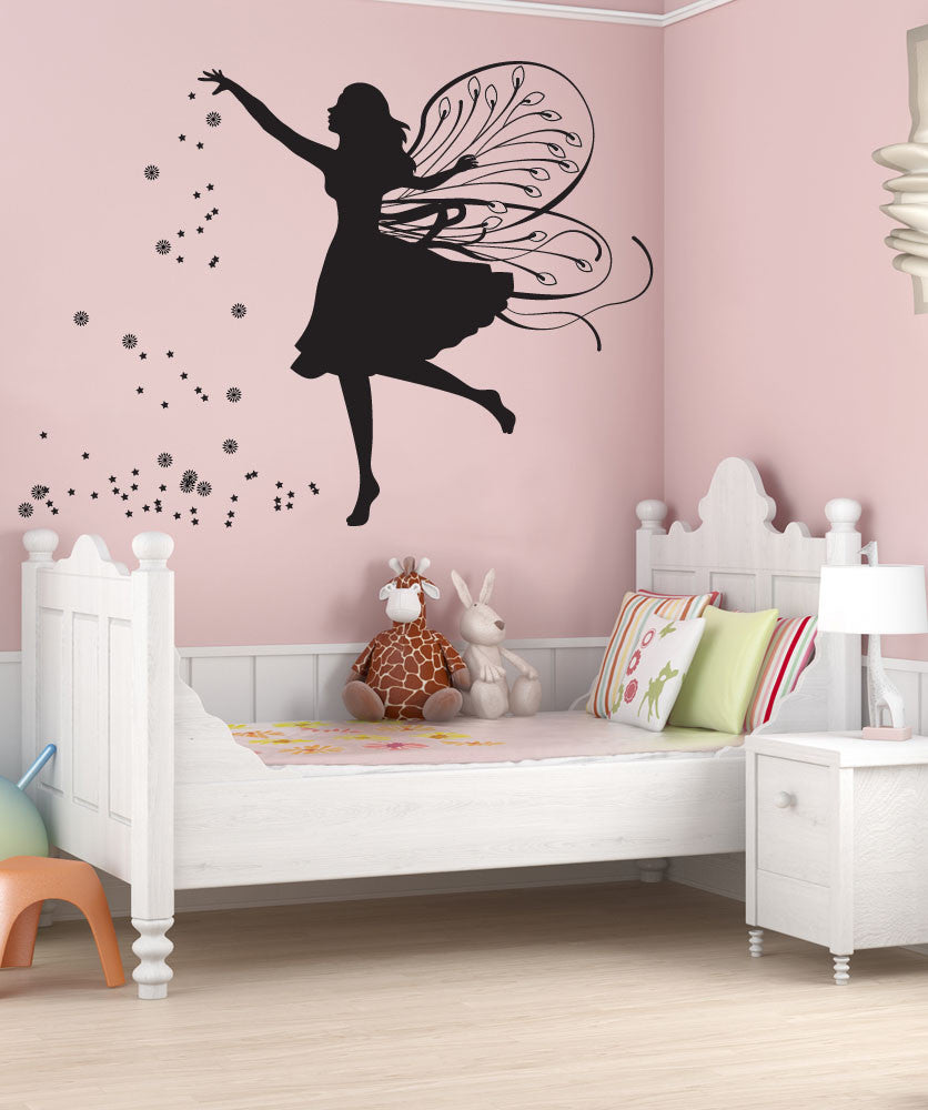 Vinyl Wall Decal Sticker Fairy Dust #OS_DC259