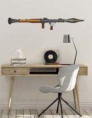 RPG Weapon Color Graphic Wall Decal Sticker. #JH190