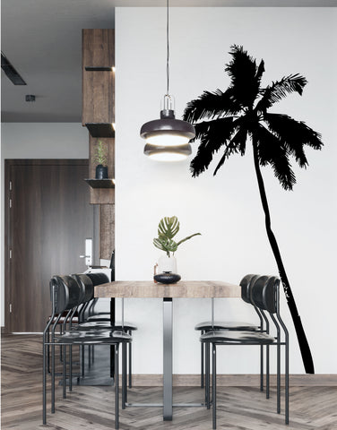 Tropical Palm Tree Vinyl Wall Decal Sticker. #JH238