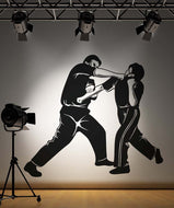 Vinyl Wall Decal Sticker MMA Punching #5203