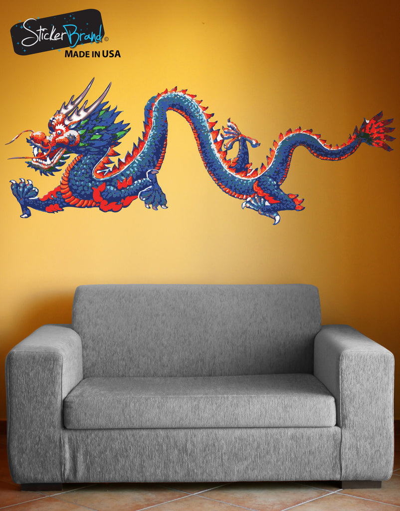 Chinese Dragon Wall Decal Dragon Wall Sticker
