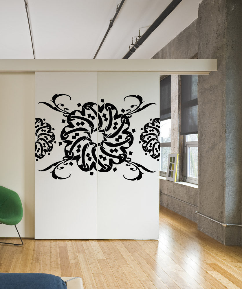 Vinyl Wall Decal Sticker Circle Pattern #OS_AA1008