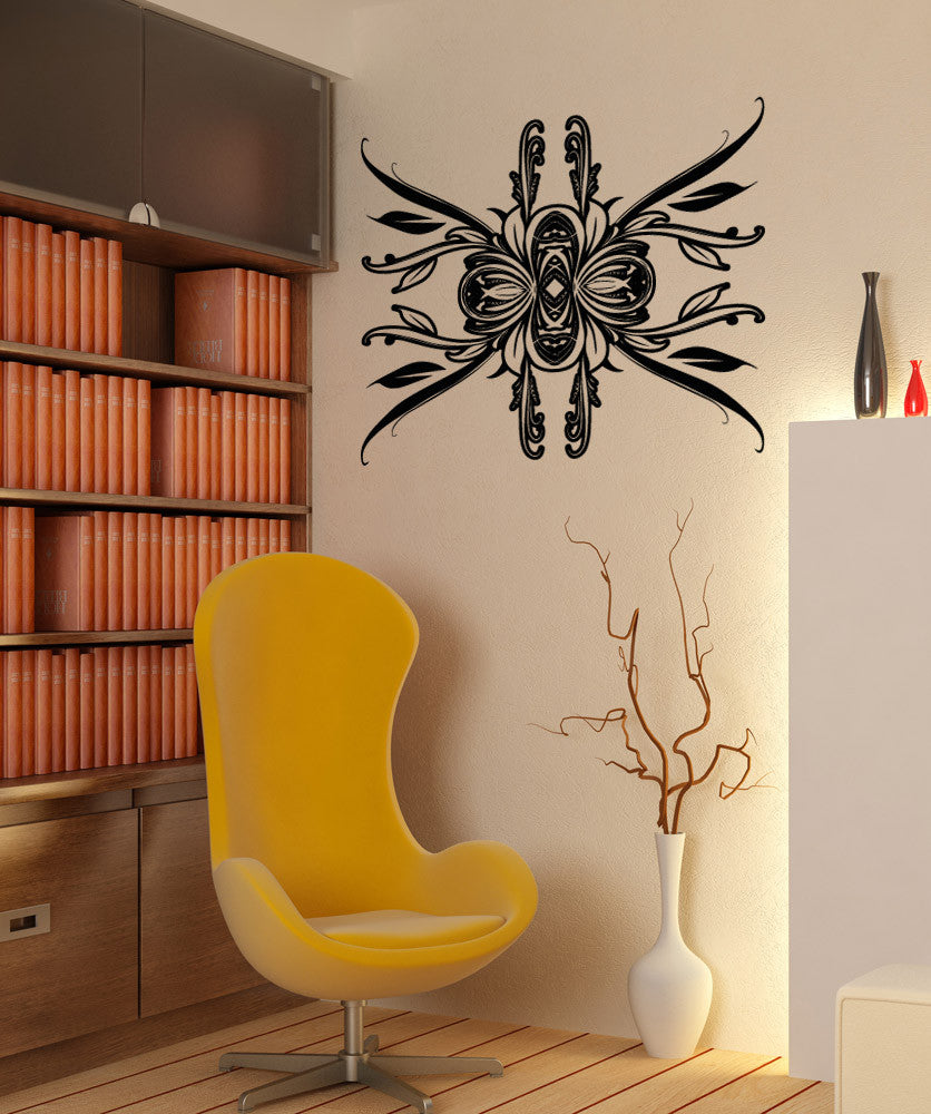 Vinyl Wall Decal Sticker Abstract Leaf Pattern #OS_AA1031