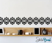 Vinyl Wall Decal Sticker Moroccan Pattern- #OS_AA117