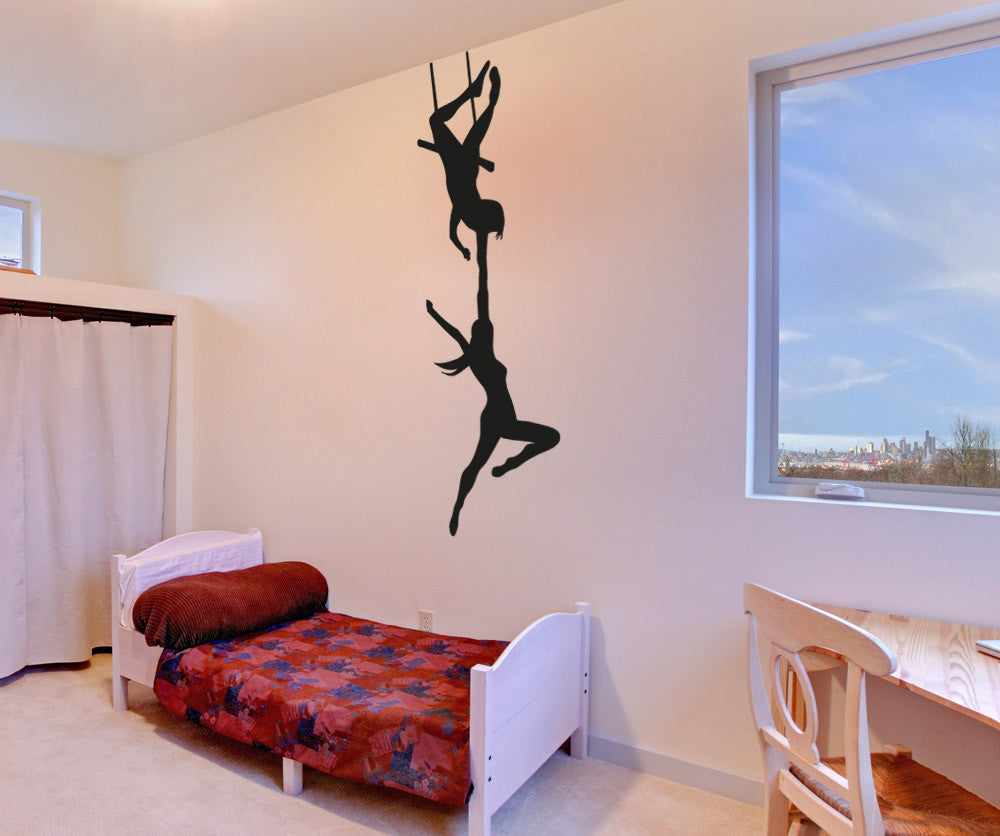 Circus Trapeze Act Vinyl Wall Decal Sticker Os Aa1190