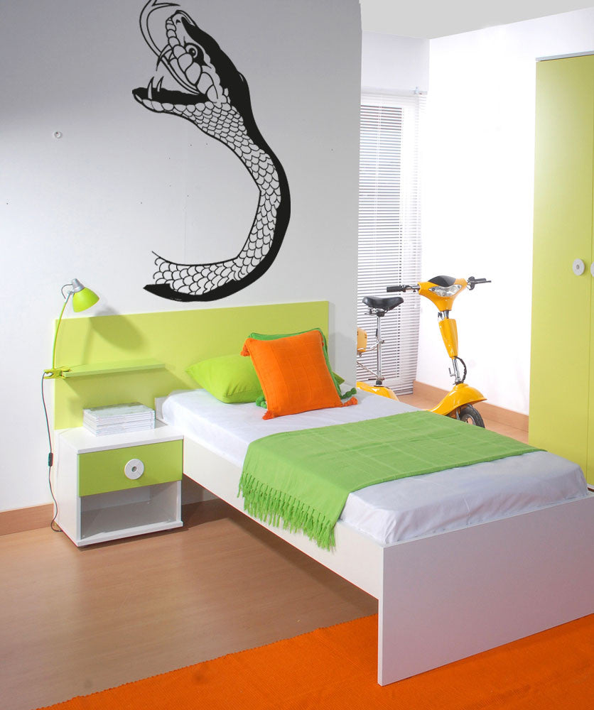 Vinyl Wall Decal Sticker Snake Head #OS_AA1201