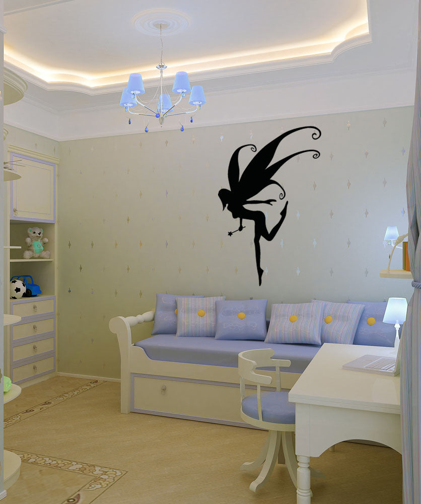 Vinyl Wall Decal Sticker Pixie Fairy #OS_AA1203