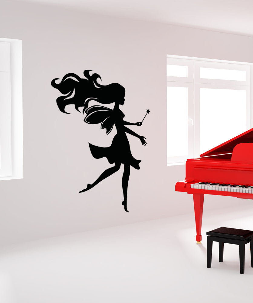 Vinyl Wall Decal Sticker Magical Fairy #OS_AA1205