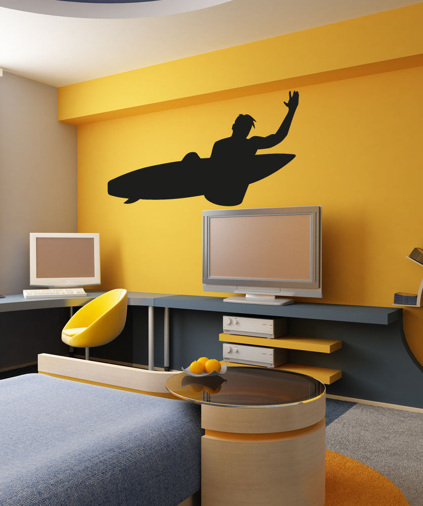 Vinyl Wall Decal Sticker Surf Trick #OS_AA1231