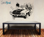 Vinyl Wall Decal Sticker 70's American Muscle Car #OS_AA123