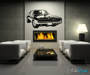 70's Inspired Car Vinyl Wall Decal Sticker. #OS_AA125