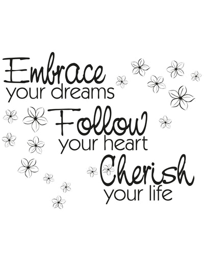 Follow Your Dreams Plaque Gift For Her X54263