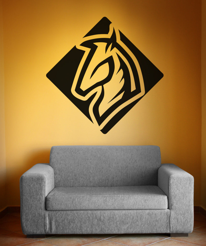 Vinyl Wall Decal Sticker Horse Square #OS_AA1300