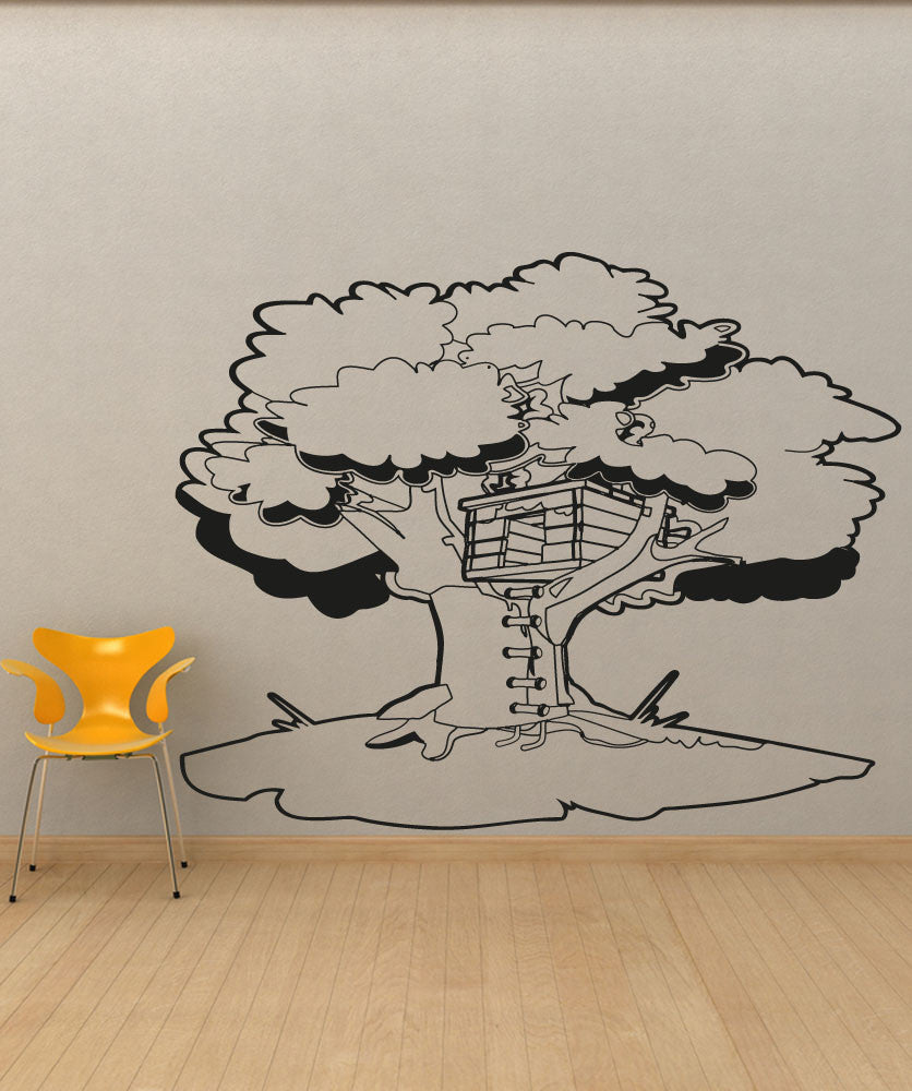 Vinyl Wall Decal Sticker Tree House #OS_AA1330