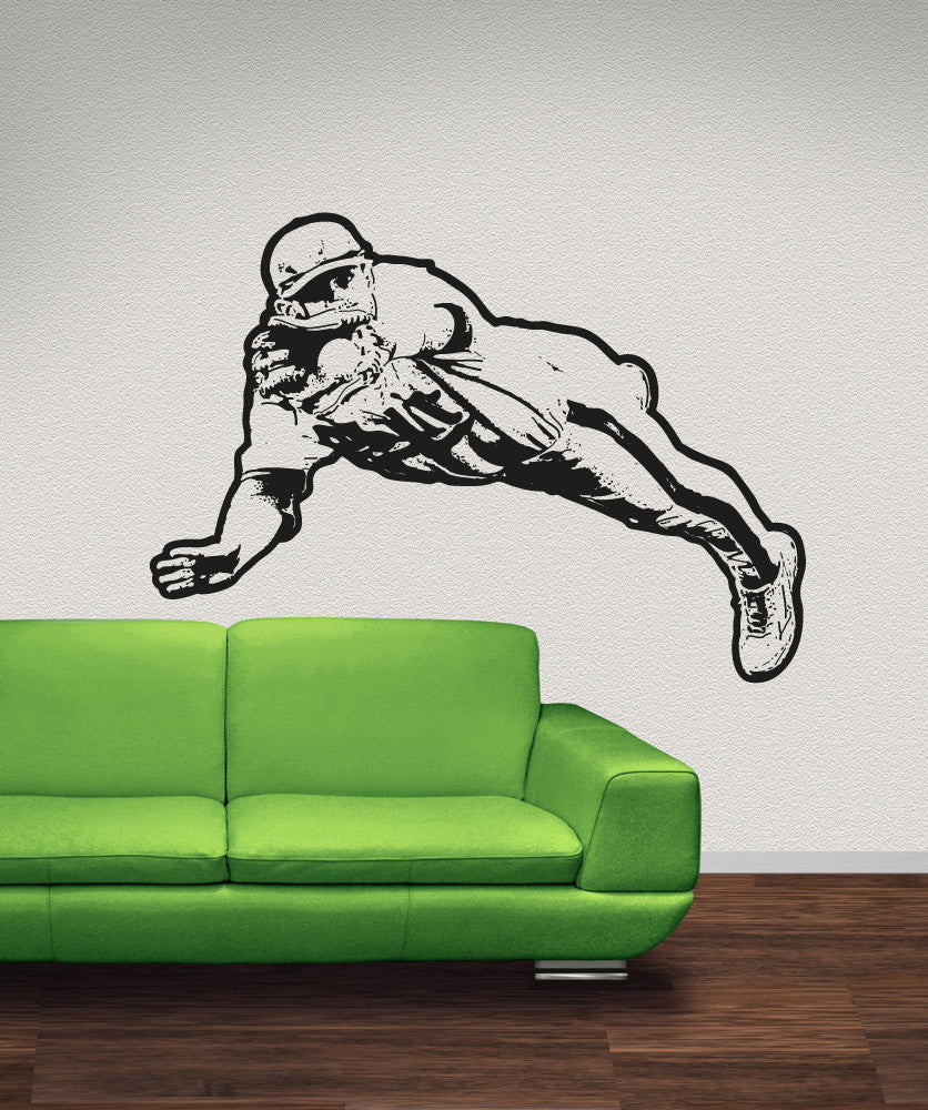 Vinyl Wall Decal Sticker Baseball Dive OS_AA1410