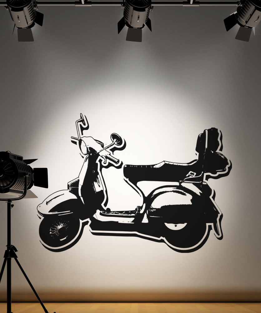 Vinyl Wall Decal Sticker Scooter #OS_AA148