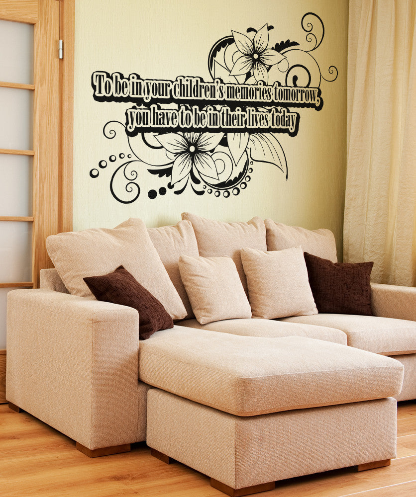 Inspirational quotes wall decals inspirational wall stickers vinyl wall decal sticker children memories quote osaa1535 amipublicfo Image collections