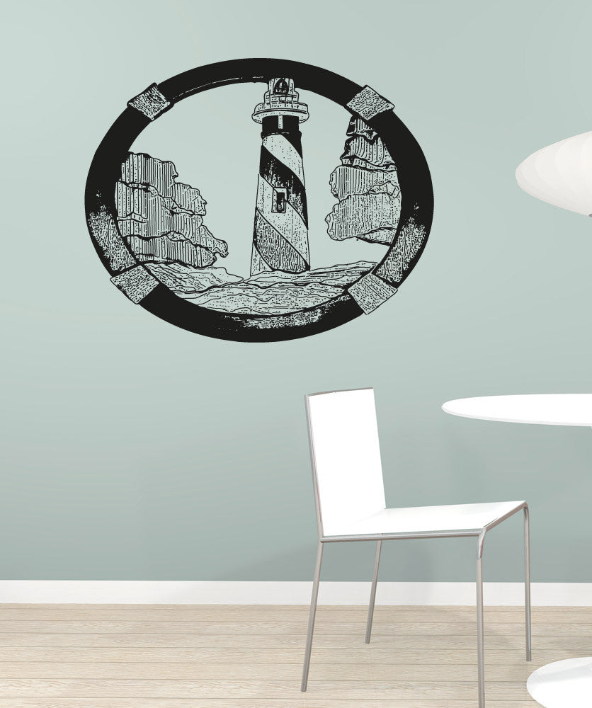 Vinyl Wall Decal Sticker Lighthouse Art #OS_AA1578