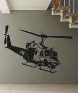Vinyl Wall Decal Sticker Huey Helicopter #OS_AA1651