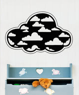 Vinyl Wall Decal Sticker Clouds in Cloud #OS_AA1698