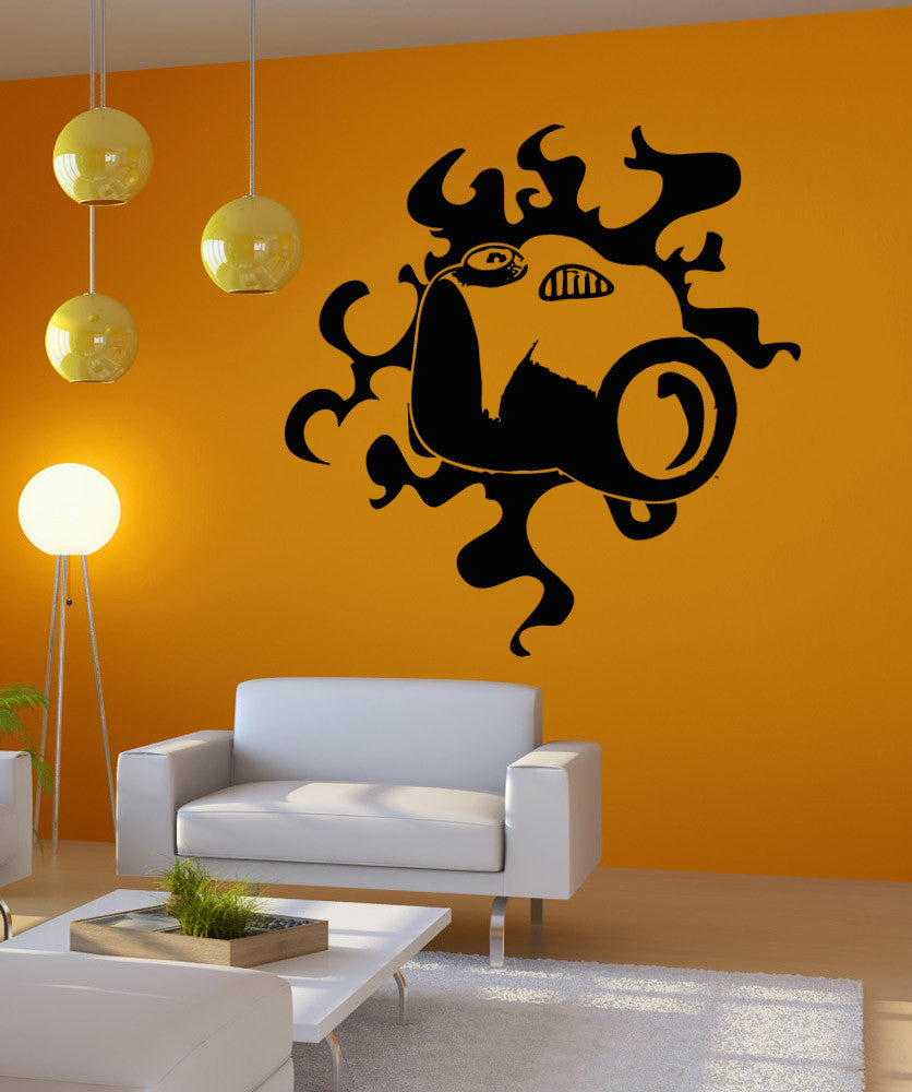 Vinyl Wall Decal Sticker Camera Design #OS_AA1713