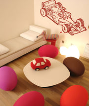 Vinyl Wall Decal Sticker Race Car #OS_AA187