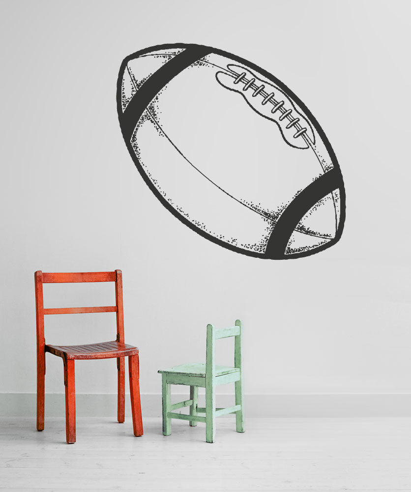 Vinyl Wall Decal Sticker Kid's Football #OS_AA188