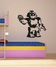 Vinyl Wall Decal Sticker Toy Robot #OS_AA199