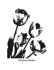 Tulips Wall Decal Sticker. #OS_AA259