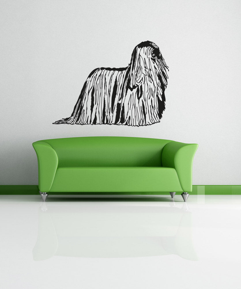 Vinyl Wall Decal Sticker Komondor #OS_AA624