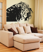 Vinyl Wall Decal Sticker Spotted Leopard #OS_AA649