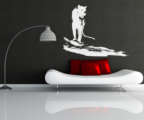 Vinyl Wall Decal Sticker Roaming Panther #OS_AA662