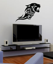 Vinyl Wall Decal Sticker Tribal Panther #OS_AA663
